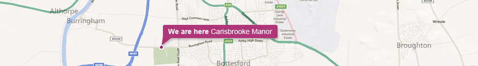 Carisbrooke Manor Location